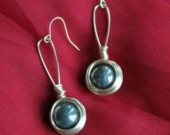 Long Dangle Nest Earrings