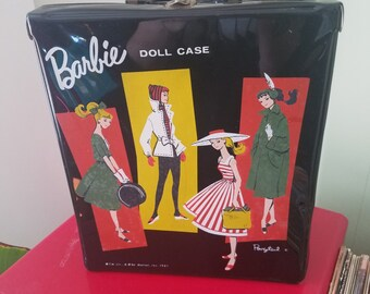 Vintage 1961 Ponytail Barbie Doll Case
