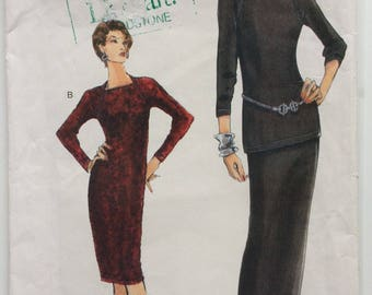Very Easy Vogue sewing pattern 9942 - Misses' dress, tunic and skirt size 8-10-12- Uncut