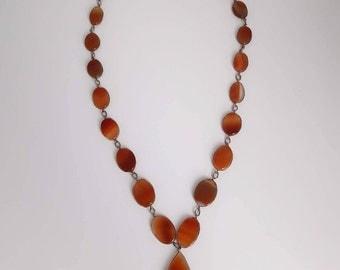 Antique Edwardian Carneol Necklace