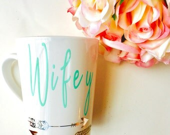 Wifey Mug, gifts for her, engagement gift