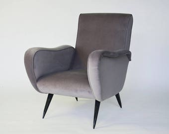 Italian Mid-Century Modern Armchair