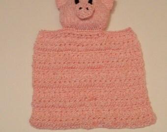 Baby Pig Cuddle/Security Blanket