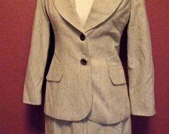 Vintage 3pc Tweed Suit Set