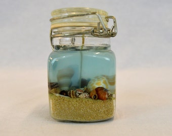Just Beachy Gel Candle Jar - Small