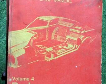 1974 Ford Car Body Shop Manual Volume 4