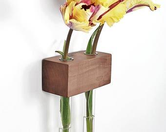 Apple of 2 flower vase window vase
