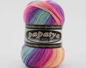 Batik Rainbow Yarn (554-11 | 100g)
