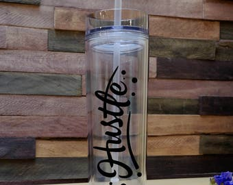 Hustle Tumbler - Water Bottle - Drinkware