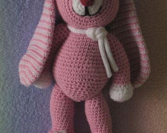 Bunny Toy Pink