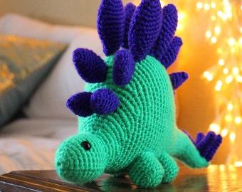 Crochet Stegosaurus Amigurumi
