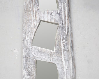 Large White Wall Mirror large wall mirror | etsy