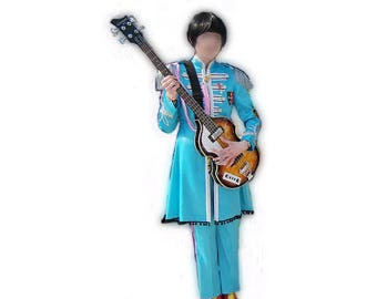 Paul McCartney The Beatles Sgt. Pepper Cosplay Costume