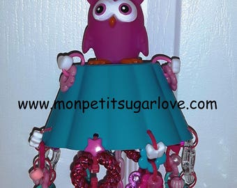 Owl Foraging reset toy for sugar gliders. Premade toy ready to ship!