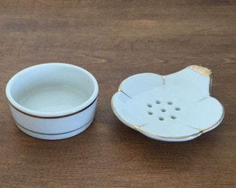 Japanese Ceramic Tea Bag Holder Strainer