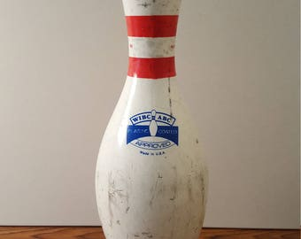 Authentic AMP Bowling Pin (c. 1980's)