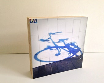 Dutch Tile-bamboo photo block