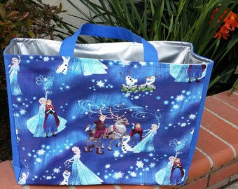 Reusable Multipurpose (Grocery, Beach etc.) Bag with Waterproof lining