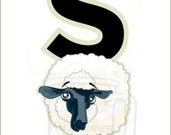 S is for Sheep : Animal Alphabet