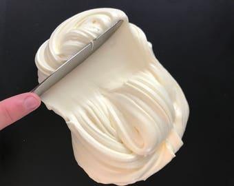Lemon Cake Cream Cheese Slime!