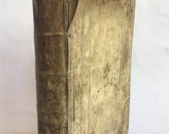 1615 Vellum-bound Christian Theological Treatise