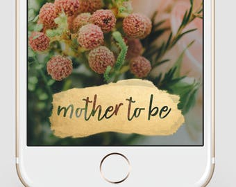 INSTANT DOWNLOAD Snapchat Geofilter | Gender Neutral Baby Shower | It's a Boy / Girl | Baby Shower Geofilter