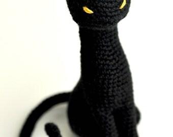 Cat amigurumi crochet