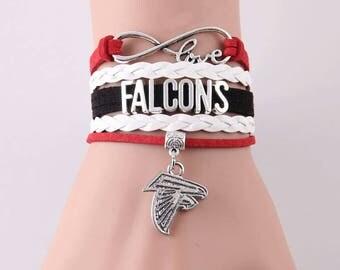 Atlanta Falcons Infinity Bracelet