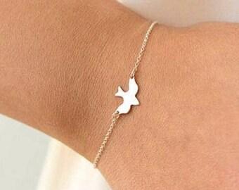 Dainty Dove Bracelet
