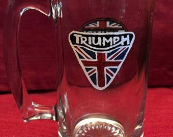 Triumph Motorcycle Glass