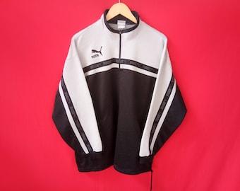 vintage puma sweatshirts large mens size