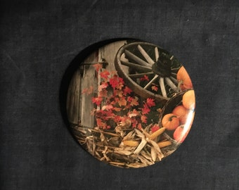 Harvest Wagon Pin