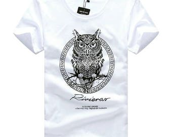 T-shirt with owl