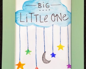 Nursery Painting - Dream Big!