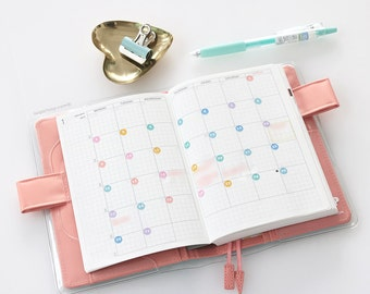 Mini Date Dots, Planner Stickers, Calendar Numbers, 1-31, Date Covers, Day Number Dots, Day of The Month, Diy Calendar, Bullet Journal, DAT6