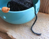 Custom Order Hedgehog Yarn Bowl - 4-6 weeks for delivery