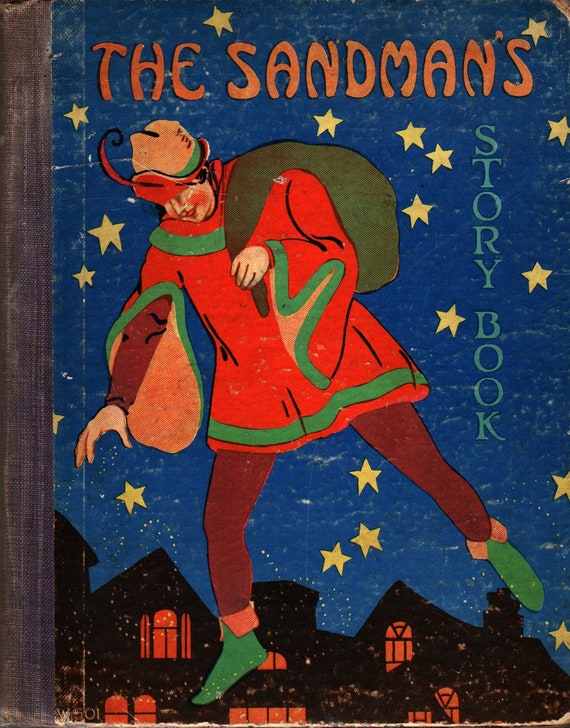 The Sandman's Story Book - 1928 - Vintage Kids Book