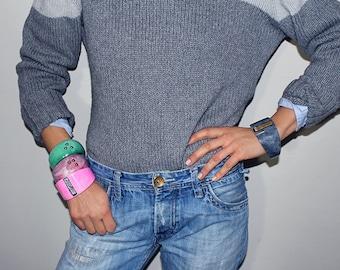novo_6, resin bracelet, made in italy