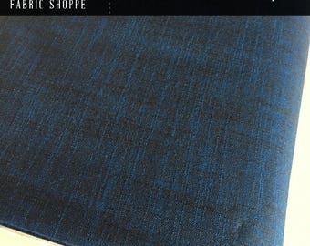 SALE Fabric, Manchester in Royal, Woven fabric, Blue fabric, Apparel fabric, Scarf fabric, Quilt fabric, Choose your cut