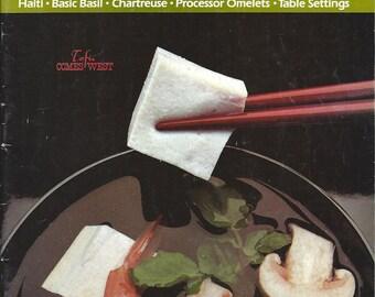 Vintage Cuisine Magazine June 1980 - The Magazine of Fine Food and Creative Living