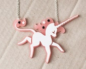 Fairy Tale Unicorn Necklace // Unicorn Gift // Gift for Her