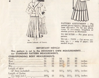 """Vintage Sewing Pattern Ladies 1960's Dress Spadea S-213 35"""" Bust - Free Pattern Grading E-book Included"""