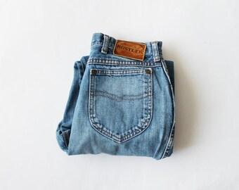 1970s Rustler High Waist Boyfriend Jeans