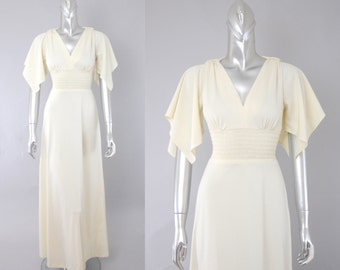 Lola Falana goddess gown | vintage grecian dress | vintage 70s maxi dress