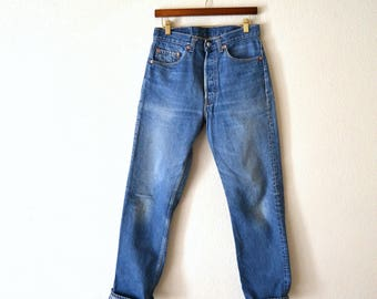 90's Levis 501xx Denim Jeans 32 x 34