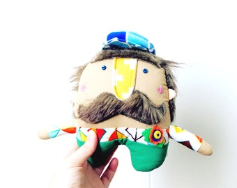 MR Mustache // Ready Made // Unique present