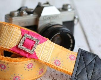 Custom Camera Strap. Camera Strap. dSLR Camera Strap. Padded Camera Strap. Photographer Gift. Camera Straps. Digital Camera Strap.