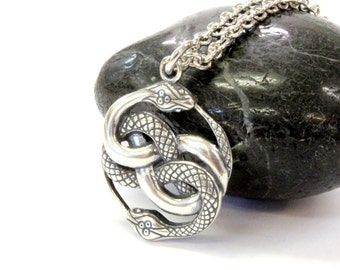 AURYN Necklace  Sterling Silver AURYN Pendant Necklace Neverending Story AURYN Jewelry 533