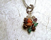 Appetite Control Healing Stone Necklace, Healing Crystals Necklace