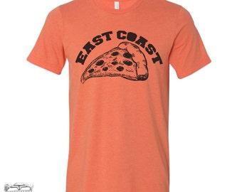 Men's East Coast PIZZA t shirt s m l xl xxl (+ Color Options)